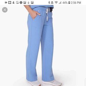 FIGSTeresinaWide-Leg Scrub Pants